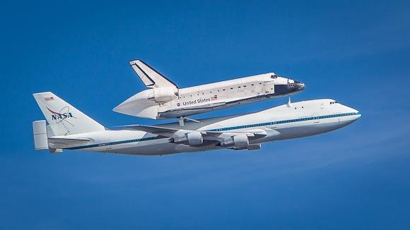 Space Shuttle Endeavour - Menlo Park - 2012